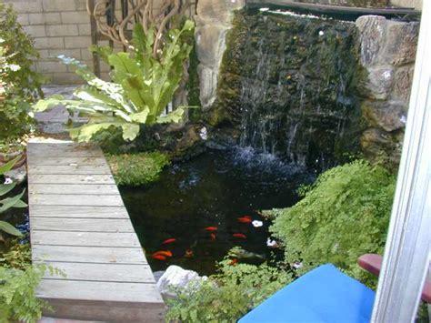 patio koi pond mclaughlin s pond