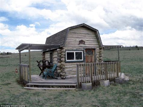tiny home colorado tiny colorado micro cabin on sale for 66k daily mail online