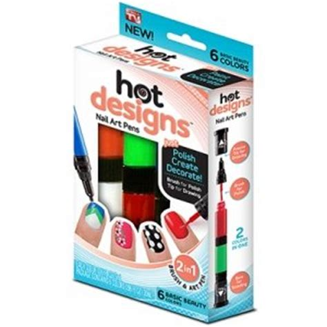 6 Color Starter Kit Nail Arts Pen Kutek Kuku 6 color starter kit design nail basic
