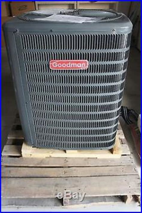 goodman condensing unit capacitor room air conditioners 187 goodman 4 ton 13 seer central air condenser unit gsc130481 brand new