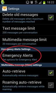 emergency alerts android risk assessment program for active directory personal evacuation plan hse emergency alerts