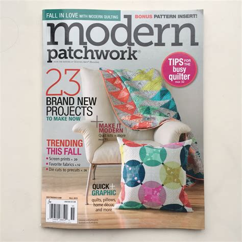 Modern Patchwork Magazine - karenlewistextiles modern patchwork a giveaway