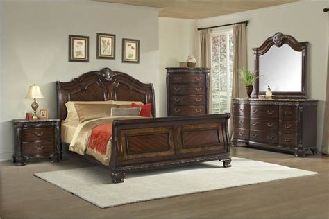 southern style bedroom furniture von furniture southern belle bedroom set with sleigh bed
