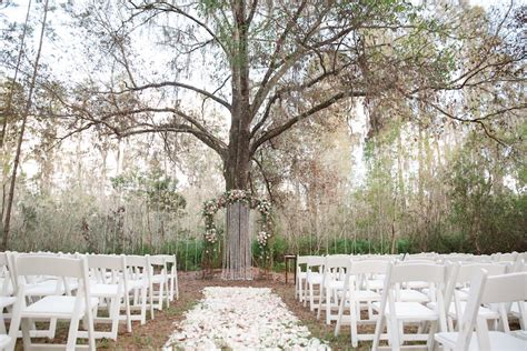 rustic wedding venues ta bay area land o lakes rustic glam wedding in the woods