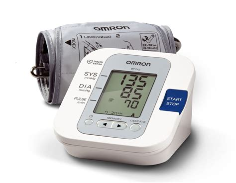 omron bp742 arm home blood pressure monitor ebay