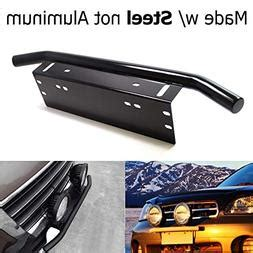ijdmtoy bull bar style stainless steel front bumper