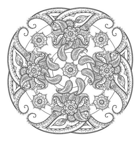 mandala coloring pages michaels 543 besten color mandalas bilder auf pinterest malb 252 cher