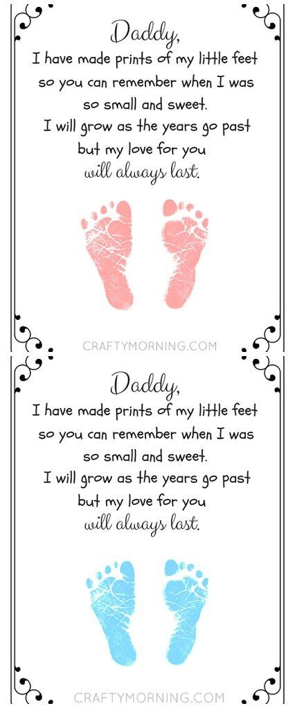 fathers day footprint free printable s day footprint poem from the