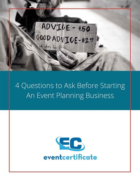 4 questions to ask before starting an event planning business event planning certificate