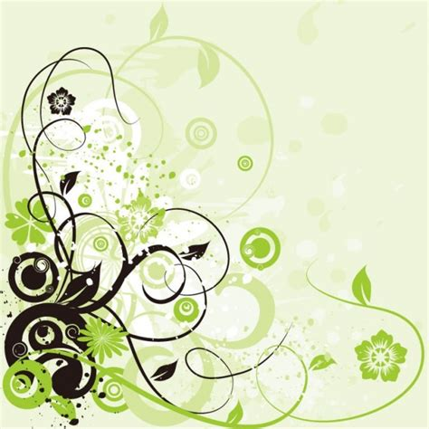 wallpaper design clipart floral swirls green design background abstract
