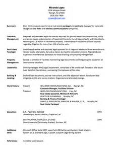 Work History Resume by Resume Writing Employment History Page 1