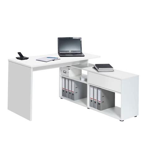 wooden corner computer desk wooden corner computer desk in icy white 30925