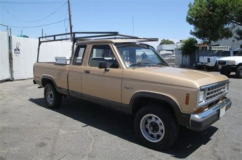 all car manuals free 1986 ford ranger electronic throttle control sell used 1988 ford ranger super cab 4wd manual 6 cylinder no reserve in orange california