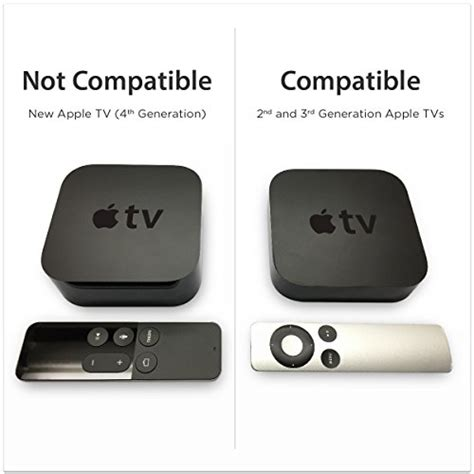 Apple Tv 3rd Generation totalmount apple tv mount compatible with 2nd and 3rd