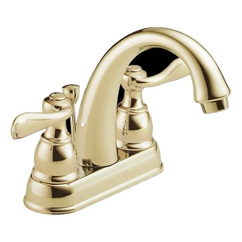 delta brass bathroom faucets delta b2596lf pb foundations windemere two handle