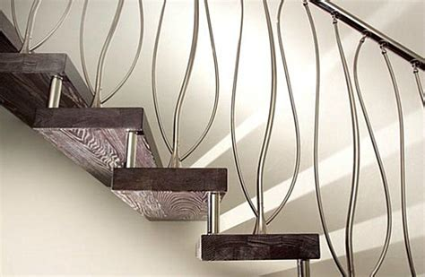 modern stair banister modern handrails adding contemporary style to your home s staircase