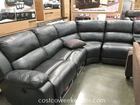 leather sectional sofa costco brown leather couch costco amazing full size of sofas