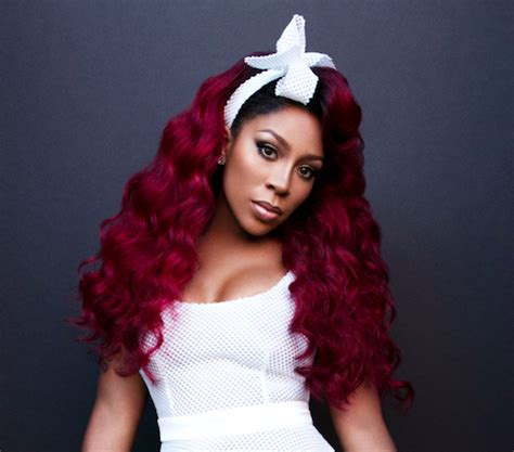 what color is k michelle hair k michelle s ex friend calls her out for reaching out to