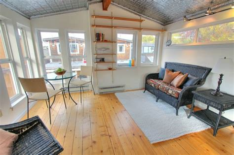 tiny houses for sale seattle 740 sq ft fancy n funky floating home in seattle tiny