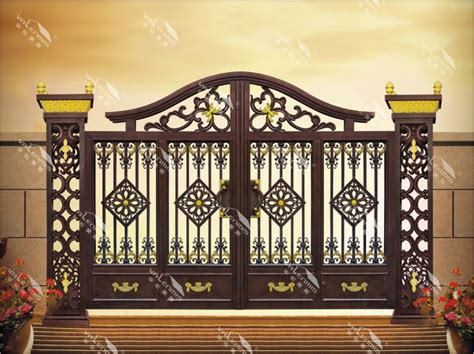 2017 indian house main gate designs with froged aluminum
