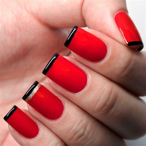 imagenes de uñas pintadas de rojo y negro 20 u 241 as de color rojo que necesitas tener ahora mismo