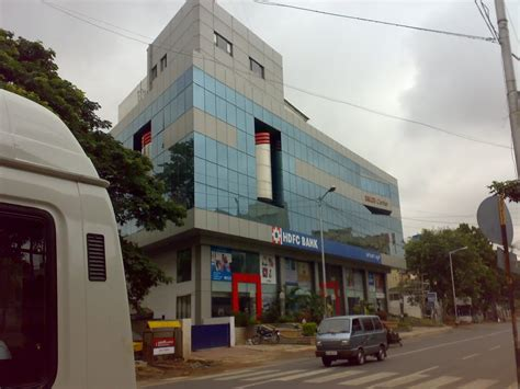 richmond bank panoramio photo of richmond road hdfc bank