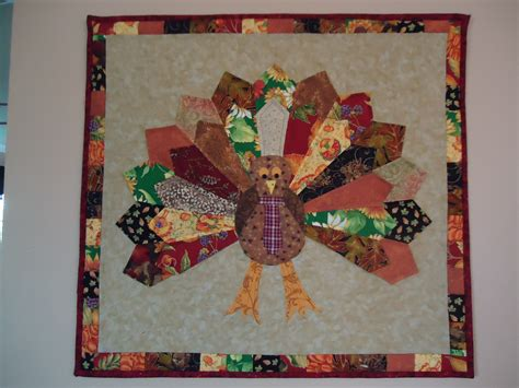 gobble gobble scrappy dresden turkey wall hanging