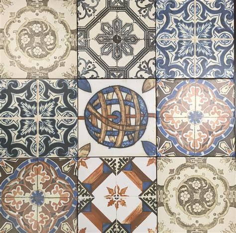 nikea pattern tiles nikea matt multi coloured wall and floor tile 20 215 20
