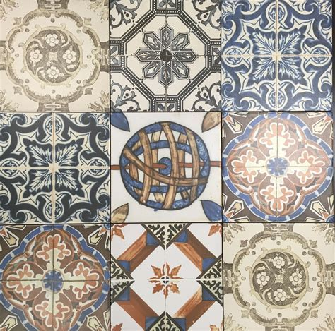 Nikea Matt Multi Coloured wall and floor tile 20x20