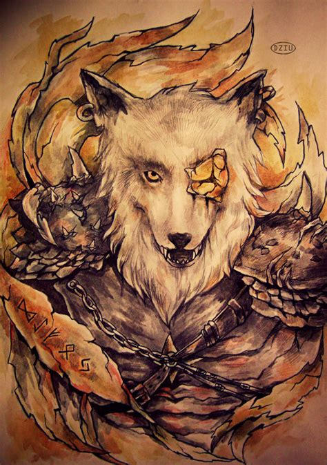 the gallery for gt odins wolves tattoo