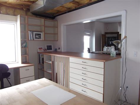 Cabinet Design Studio by Artist Studio Cabinets Home Office Salt
