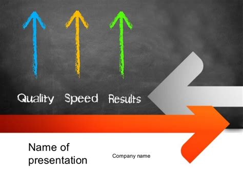 Quality Speed Results Powerpoint Template Speed Powerpoint Template