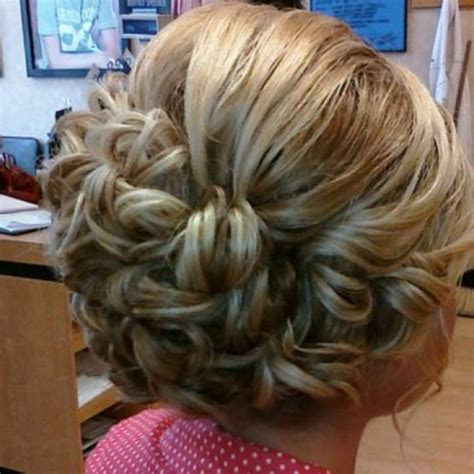 Wedding Hairstyles Hair Put Up by Pinned Curls Updo Hairstyles How To