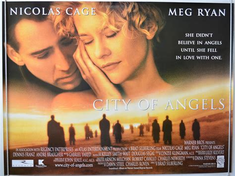 film nicolas cage and meg ryan city of angels original cinema movie poster from