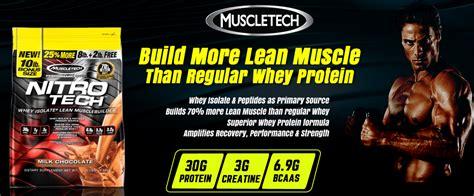 Muscletech Nitrotech Whey Protein 10 Lbs 10 Lb muscletech nitrotech 10 lbs osborn