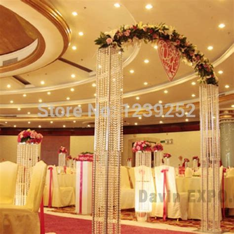 10m Crystal Clear Acrylic Bead Curtains Party supplies