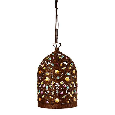 Antique Bronze Pendant Light Searchlight 5811bz Moroccan 1 Light Ceiling Pendant Antique Bronze