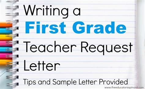 Request Letter For Kindergarten Grade Request Letter For Parents