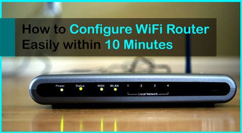 configurare ip wifi how to configure wifi router easily within 10 minutes