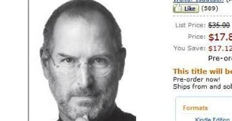 ebook biography of steve jobs steve jobs authorized biography release date bumped up