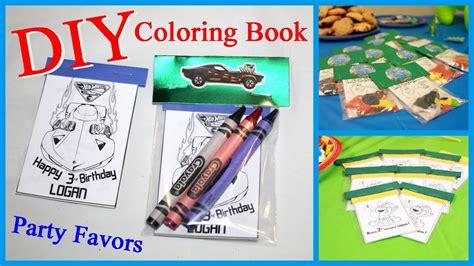 diy coloring book diy coloring book favors
