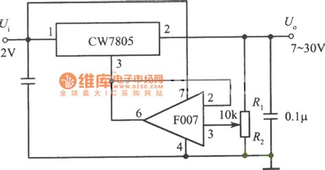 integrated voltage regulator design 7 30v adjustable output integrated voltage regulator circuit power supply circuits fixed