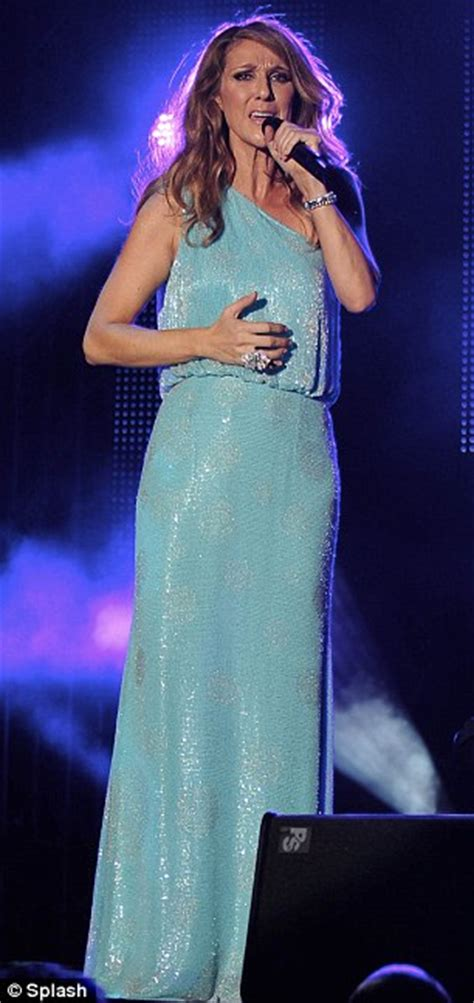 Dress Reggae Blues Berkualitas dion shows svelte legs in a daring slit gown for performance at jazz festival