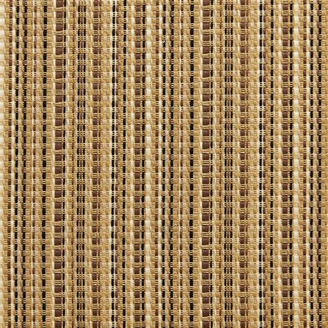 upholstery fabric nyc brown and beige woven striped silk look upholstery fabric