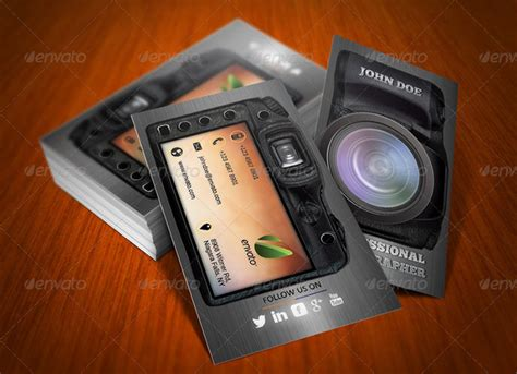 card photographer templates 20 photography business card templates