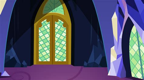 mlp twilights castle twilight sparkle s castle throneroom entrance by evilbob0