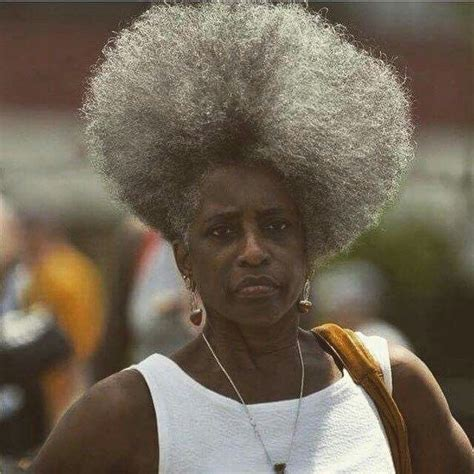 Grey Afro Styles | 773 best images about grey hair on pinterest long gray