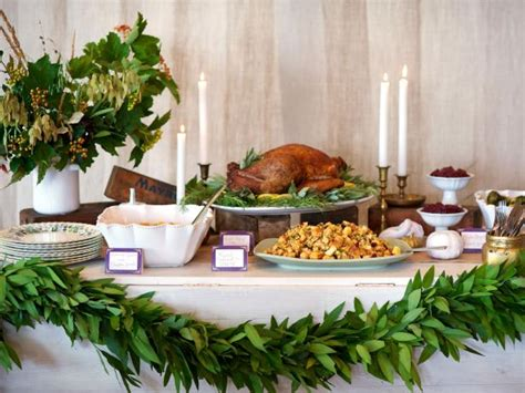 stress less holiday entertaining set up a thanksgiving