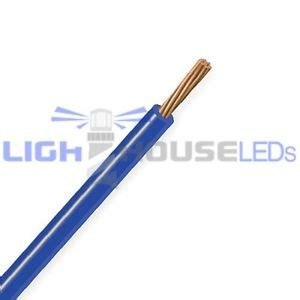18 awg electrical wire blue 5