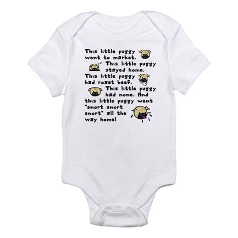 pug onesie pug breed gift baby onesie infant bodysuit by cafepress clothing